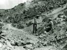 Preparing the grade to the Oakley Mine - Courtesy National Park Service, Death Valley National Park