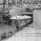 Ore leaving Upper Biddy Tunnel - Courtesy National Park Service, Death Valley National Park