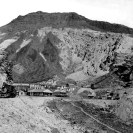 The narrow gauge Death Valley Railroad, company camp at Ryan, California - Courtesy National Park Service, Death Valley National Park