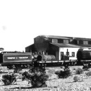 Death Valley Junction - Tonopah & Tidewater locomotive, Courtesy National Park Service, Death Valley National Park