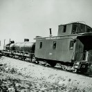 Combination train near Ryan - Courtesy National Park Service, Death Valley National Park
