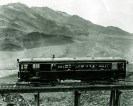 Gasoline coach - sent to Carlsbad in 1930 - Courtesy National Park Service, Death Valley National Park