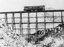 Bridge at mile post 15 with motor coach - Courtesy National Park Service, Death Valley National Park