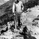 Jimmie Dodson - old time cousin Jack, single jack miner - Courtesy National Park Service, Death Valley National Park