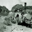Old Dinah - The Borax Industry - Courtesy National Park Service, Death Valley National Park