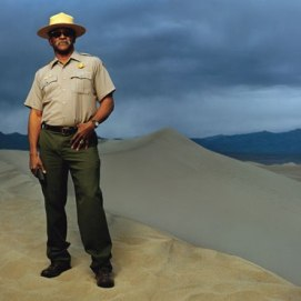 Superintendent James T. Reynolds, National Park Service, Death Valley.