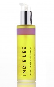 Indie Lee's lavender and chamomile body oil contains natural ingredients that can help relieve problem skin.