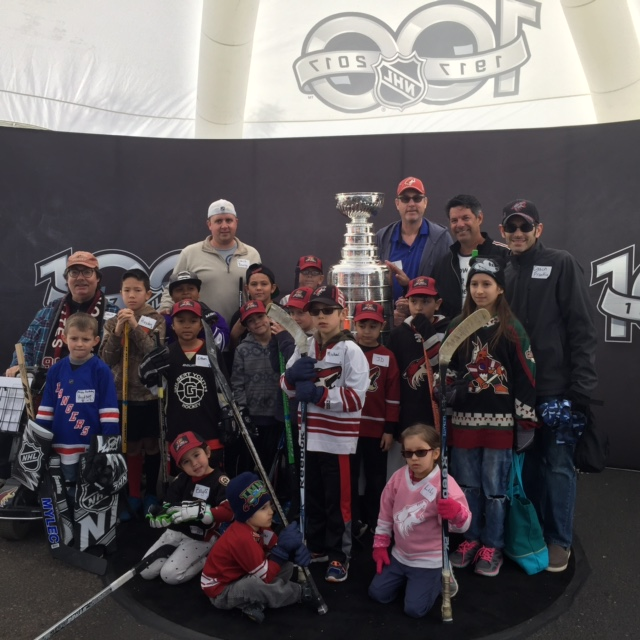 DHD Team with the Stanley Cup