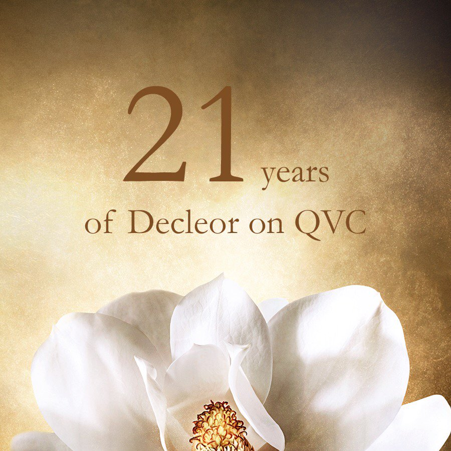 Decleor – Celebrating 21 Years at QVCUK