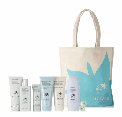 Liz Earle 6 Piece Botanically Beautiful Skin & Hair TSV on QVCUK 16th July 2016