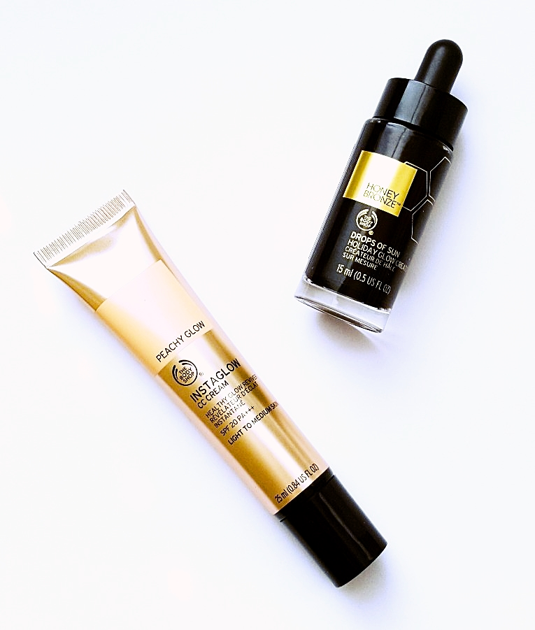 The Body Shop CC Cream & Honey Bronze Drops