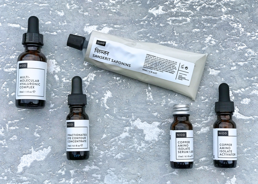 NIOD 4 Piece Dermal Science Skincare TSV on QVCUK 3rd February 2017