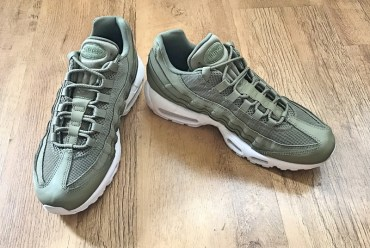 Nike Air Max 95 Essential Khaki Trainers