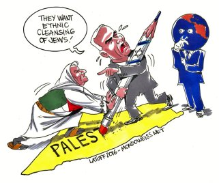 """Here we go with just another lie from Netanyahu ... """"Ethnic cleansing of Jews"""" in Palestine"""