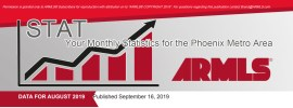 Real Estate Market Statistics September 2019 Phoenix - Nathan Mitchell Realtor