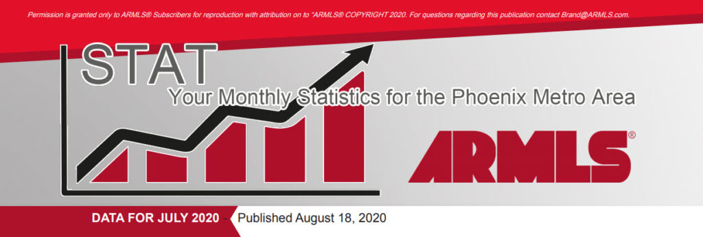 Real Estate Statistics August 2020 Phoenix - Hunter Clark and Nathan Mitchell