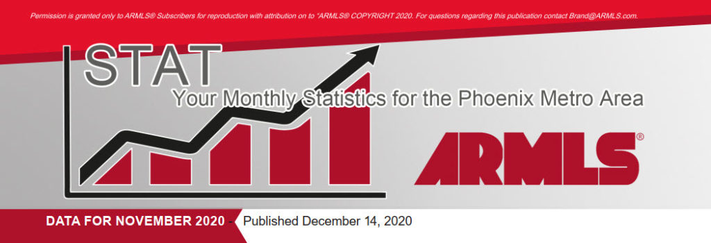 Real Estate Statistics December 2020 Phoenix - Hunter Clark and Nathan Mitchell