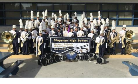 Cheyenne's Marching Band is Ready to Motivate!