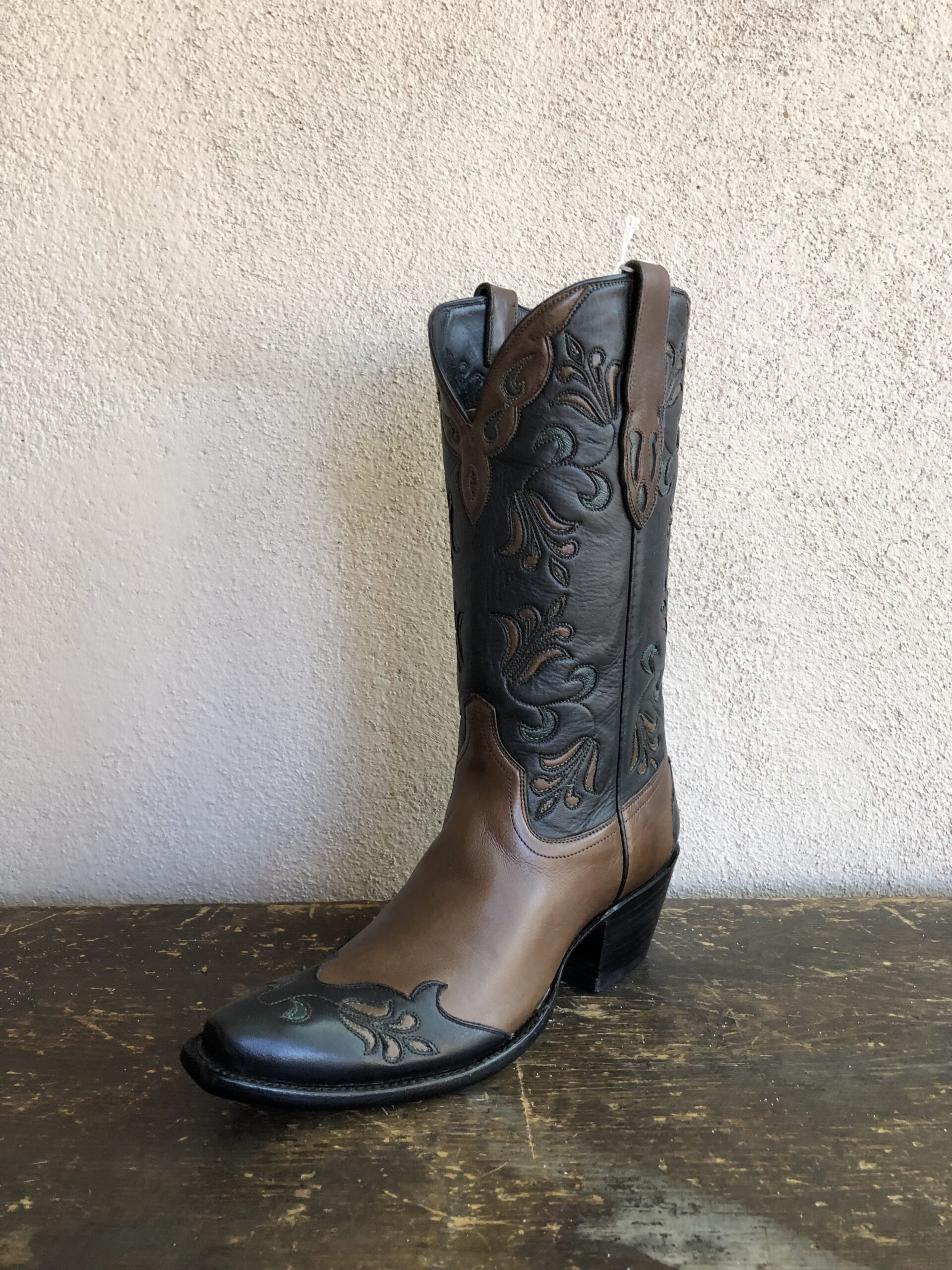 STALLION BROWN LILY BOOT