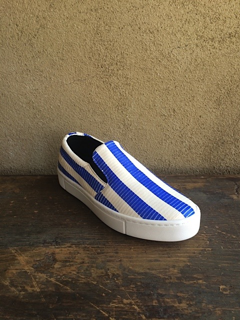 Collection Privee Stripe Sneaker