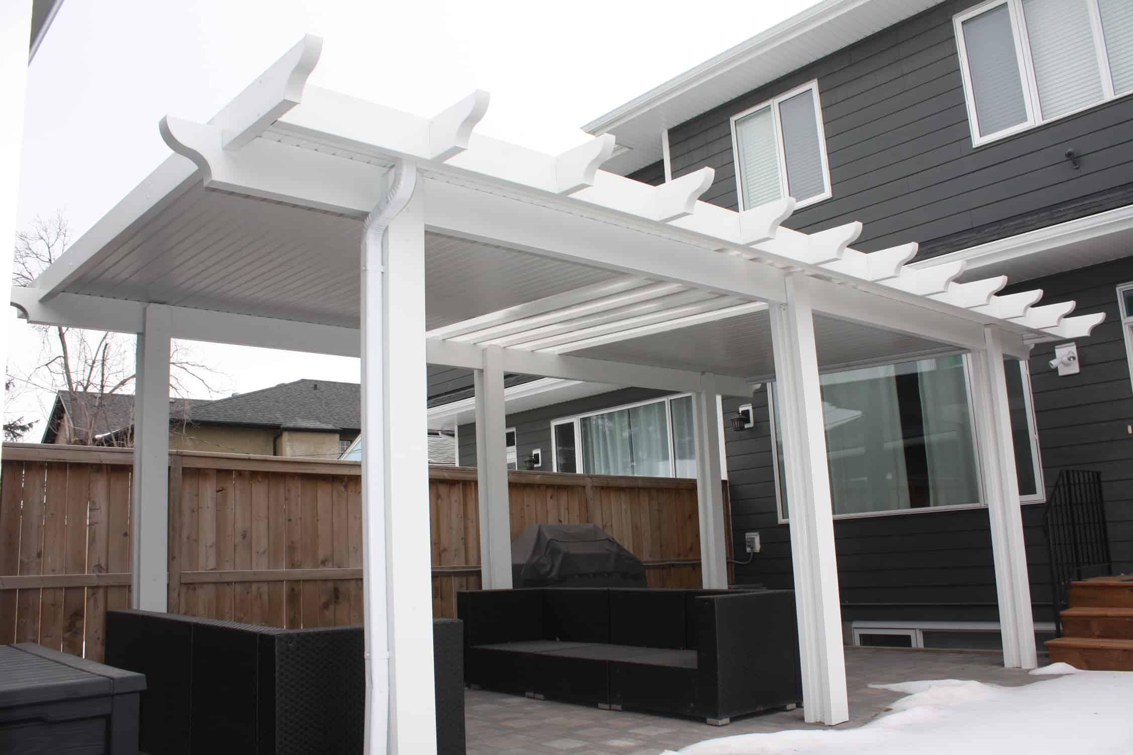 hybrid patio covers in calgary