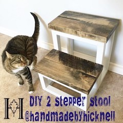 DIY Two Stepper Stool