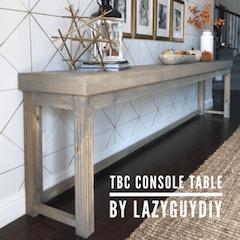 TBC Console Table