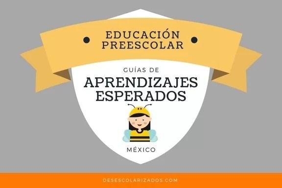 Aprendizajes esperados preescolar México