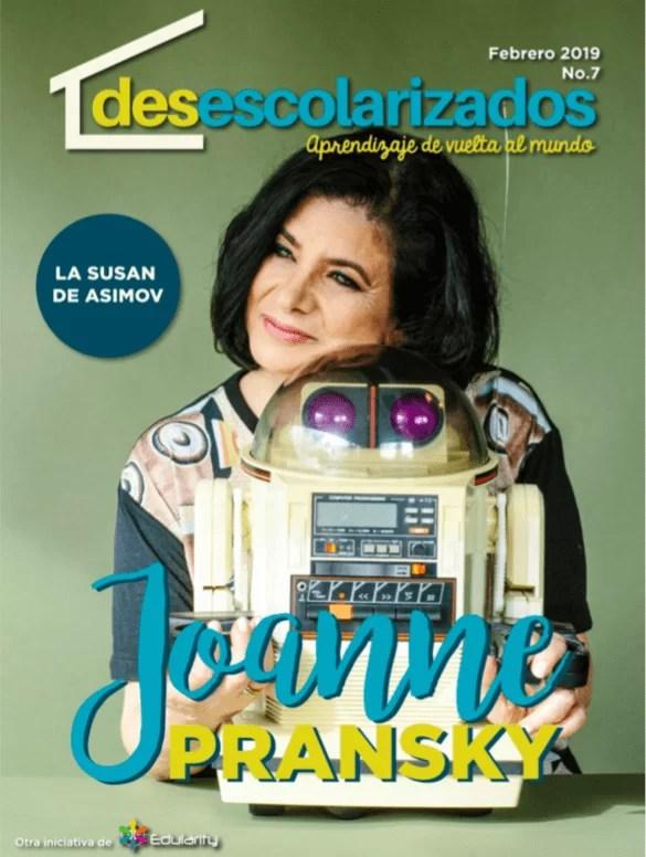 Joanne Pransky, la primera psicóloga de robots