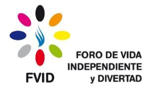 FVID - Foro de Vida Independiente y Divertad