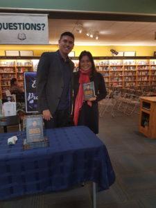 """séance de dédicace avec Kendal Netmaker, l'auteur du livre """"Bien décidé à réussir"""""""