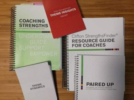 guides de coaching certifié par Gallup