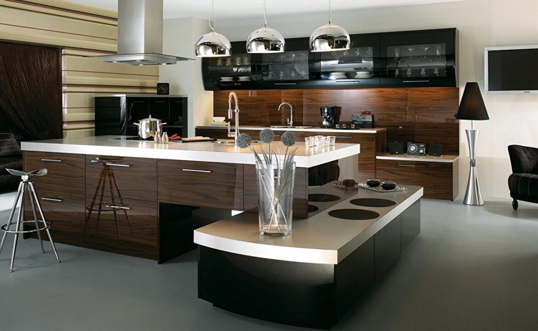 Hogyan készítsünk konyhai konyhát high-tech
