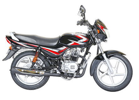 Bajaj CT 100 Black