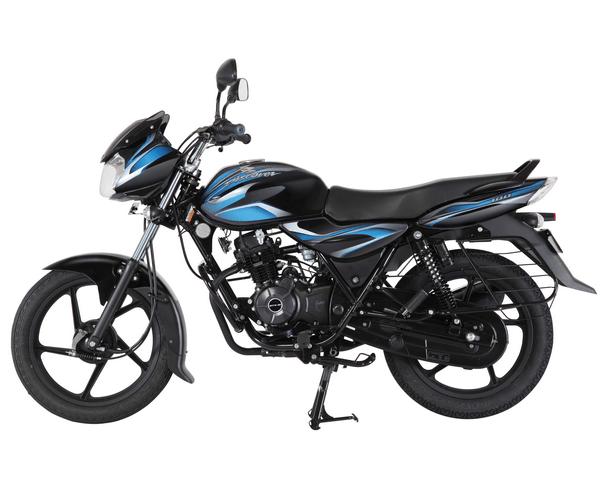 Bajaj Discover 100 Black Blue