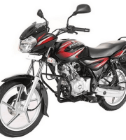 Bajaj Discover 100 Black Red