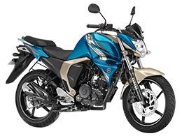 Yamaha FZs V2 Lightning Cyan