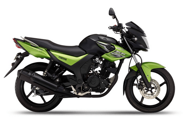 Yamaha SZ-RR V2 Green Arrow