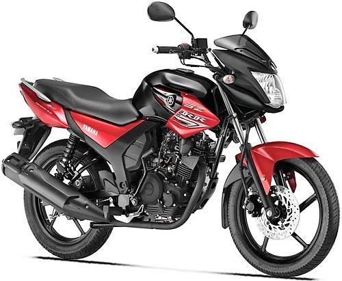 Yamaha SZ-RR V2 Red Dash