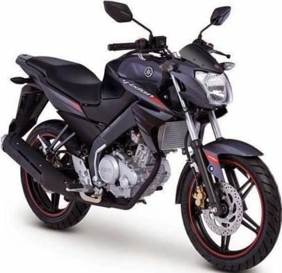 Yamaha Vixion black