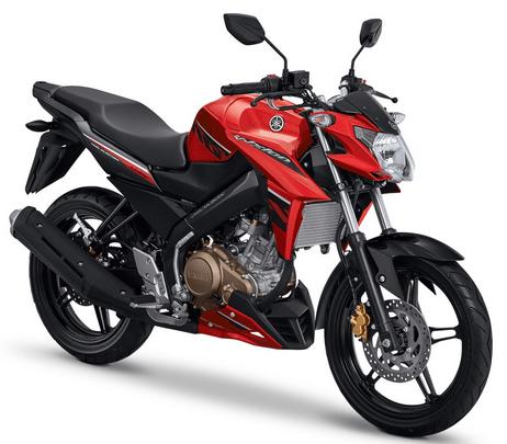 Yamaha Vixion red