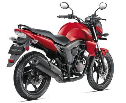 Honda CB Trigger Red