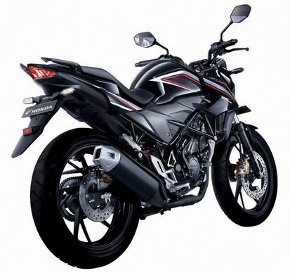 Honda CB150R Streetfire Black