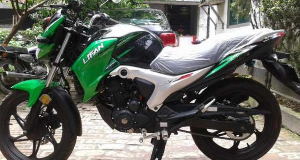 Lifan KP V2 Black and Green
