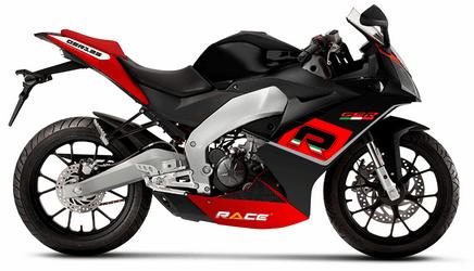 Race GSR 125 Black