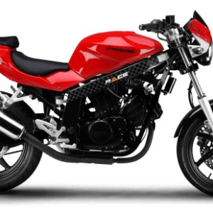 Race Hyosung GT125 Red