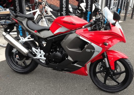 Race Hyosung GTR 125 Red