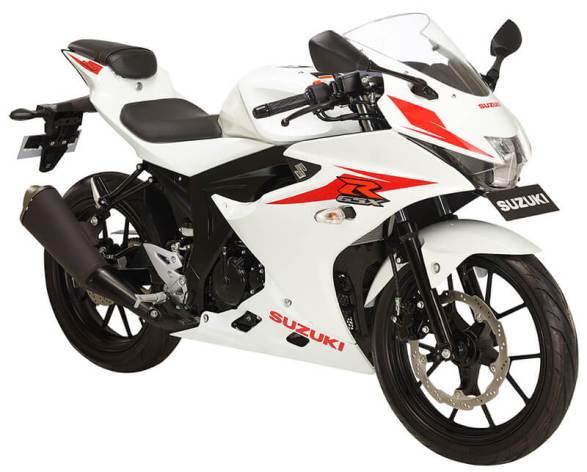 Suzuki GSX-R150 White