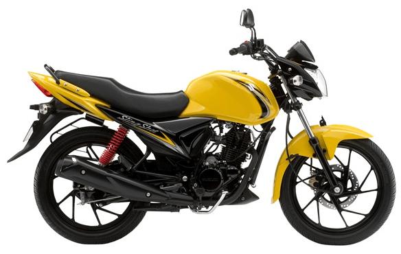 Suzuki Slingshot plus Yellow