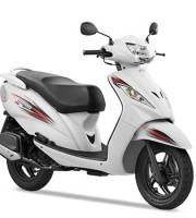 TVS Wego Sporty White